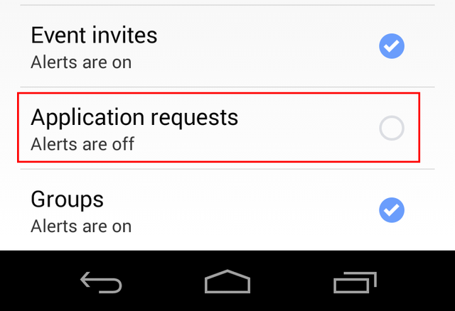10.3 Facebook Mobile - Account Settings - Notifications