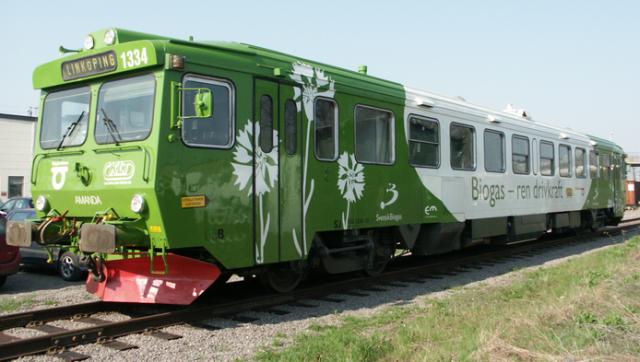 Biogas-Zug