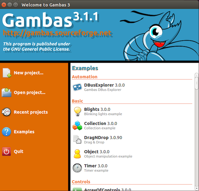GAMBAS-Projects