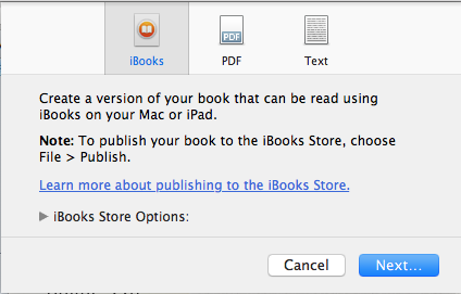 How to write and publish your first ibook using ibooks author edit edit edit fandeluxe Image collections
