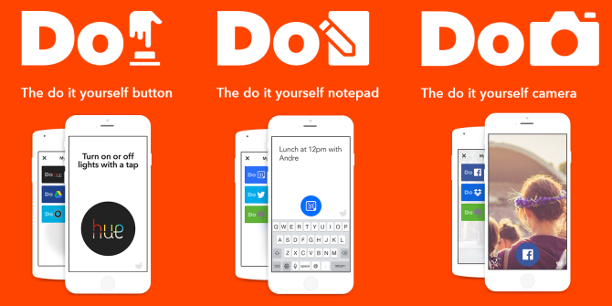 IFTTT Launches Do Note, Do Button, Do Camera for One-Tap Actions