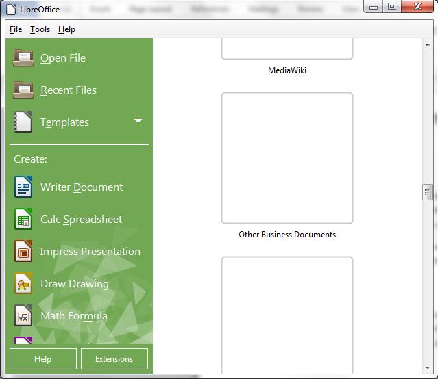 libreoffice newsletter templates
