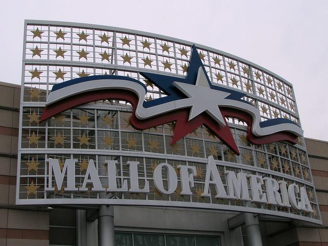 Einkaufszentrum von Amerika