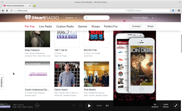 Which Internet Radio Sites Have the Best User Experience in