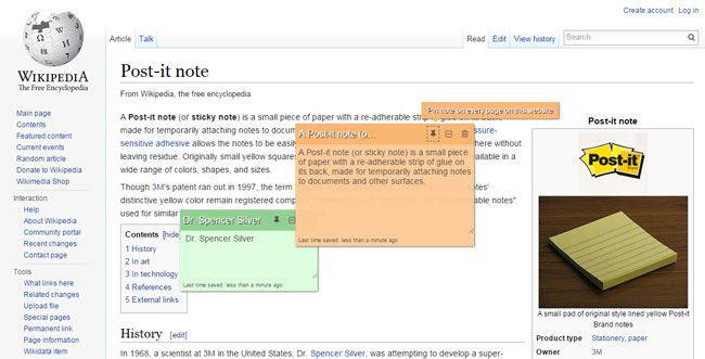 Notetaking Chrome Extension - Stickies