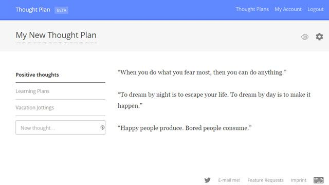 Notetaking Chrome Extension - Thoughtplan