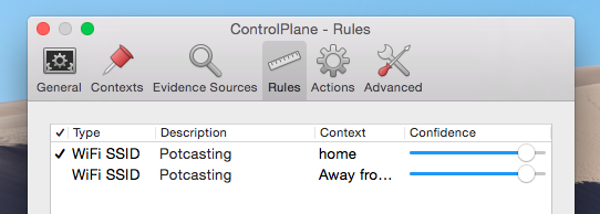 Automate Mac Settings Depending On Your Location With ControlPlane controlplane rules