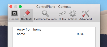 Automate Mac Settings Depending On Your Location With ControlPlane controlplane two contexts