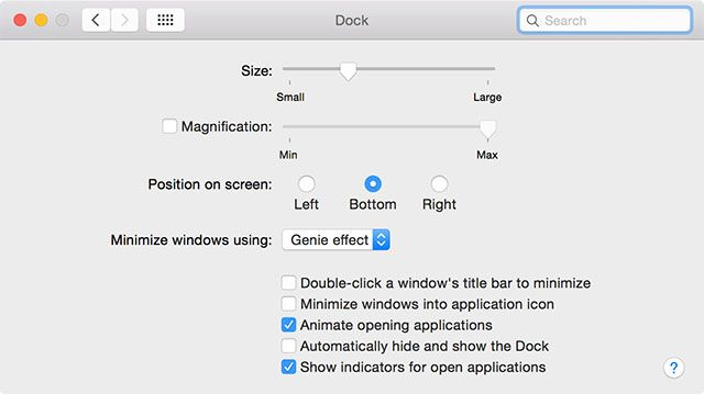 Everything You Need to Know about Your Mac's Dock docksettings