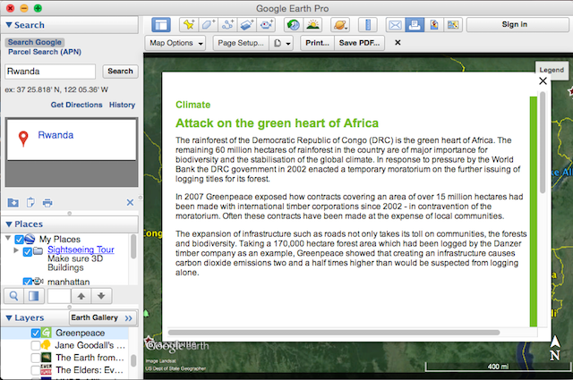 4 things you didnt know you could do with google earth pro earth greenpeace fandeluxe Image collections