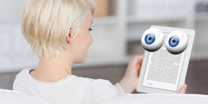 Why EBooks Are Recording Information About Your Reading Habits