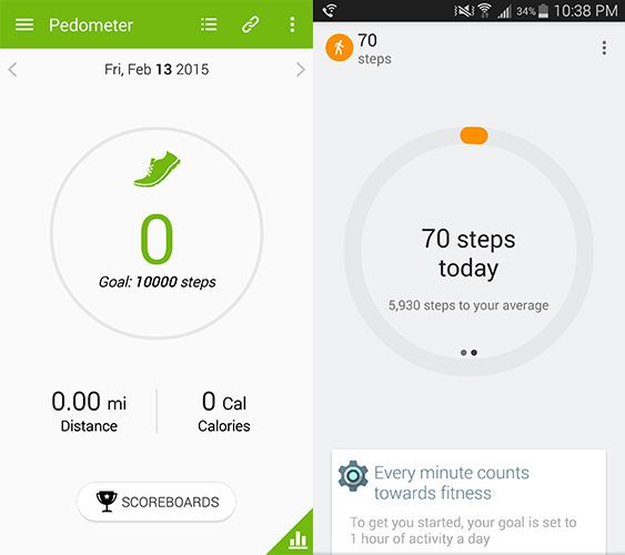 For Imitating S Health Google Fit