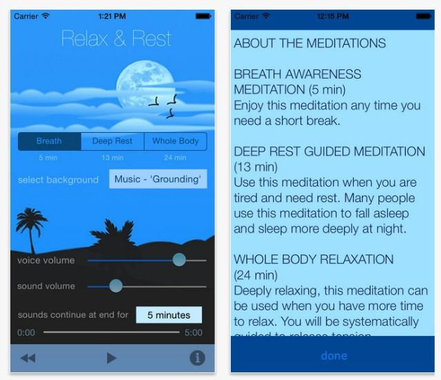relax and rest app