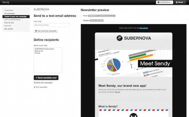 5 Web Apps for the Online Business Startup send newsletters