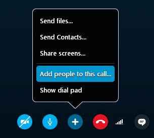 Dirty skype contacts