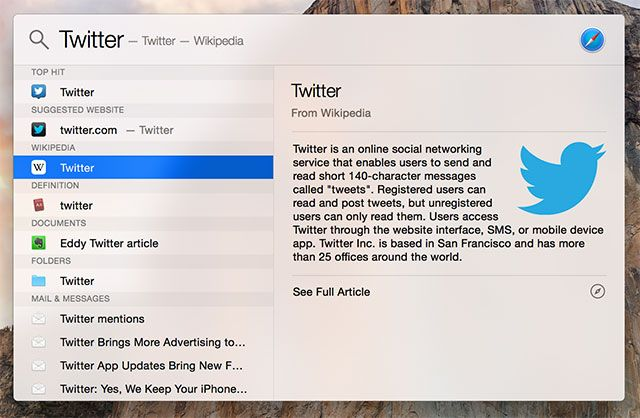 Search More Efficiently In Mac OS X With Our Top Spotlight Tips spotlight internet