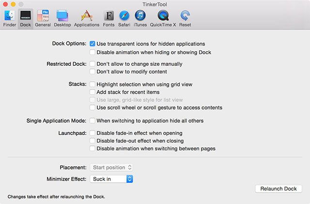 10 Hidden Terminal Commands for Customizing the Mac Dock tinkertool