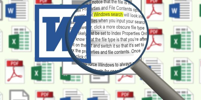 How to Search File Contents in Windows