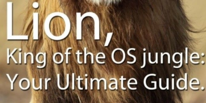Mac OS X Lion: Ultimate Guide