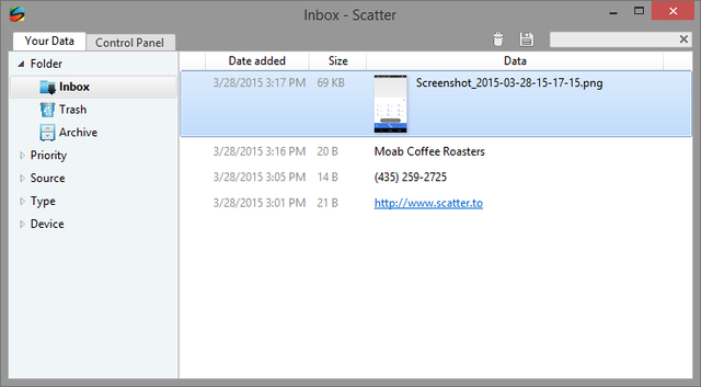 7.1 Scatter Windows UI