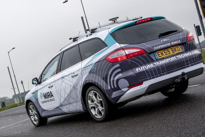 UK Legalizes Testing for Self Driving Cars