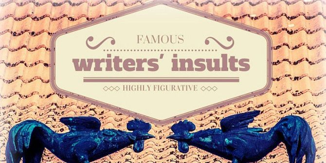 Hilarious Insults Famous Writers Said to Each Other