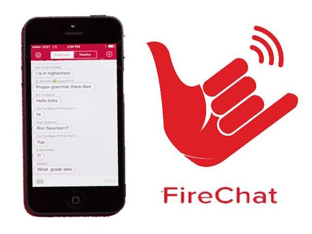 FireChat: How to Chat Without Wifi or a Signal