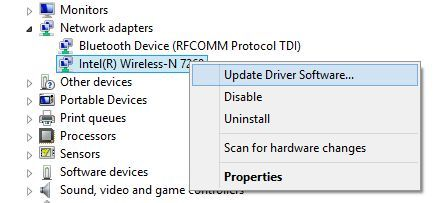 Update Network Driver