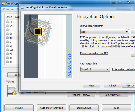 5 Effective Tools to Encrypt Your Secret Files VeraCrypt Creating Volume