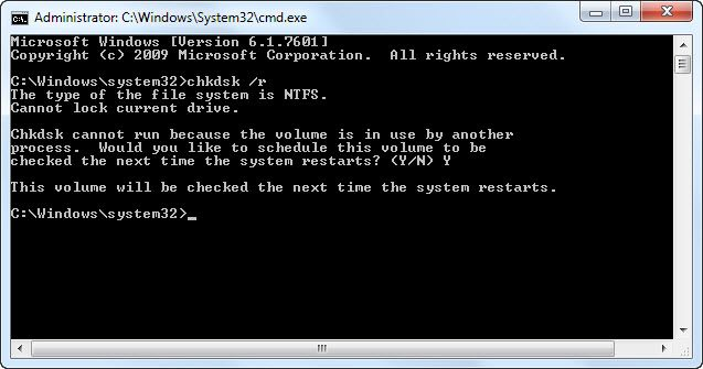 chkdsk-r-schedule-to-run