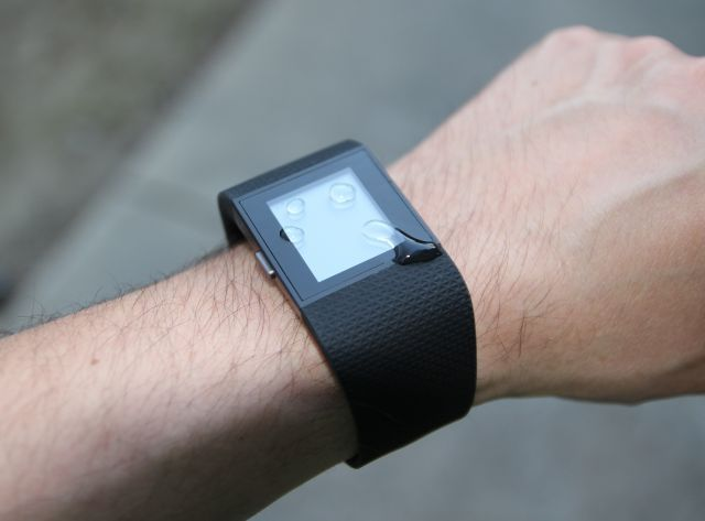 fitbit surge waterproof
