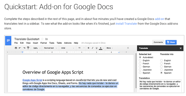 Google Docs Script Template Choice Image - Free Templates Ideas