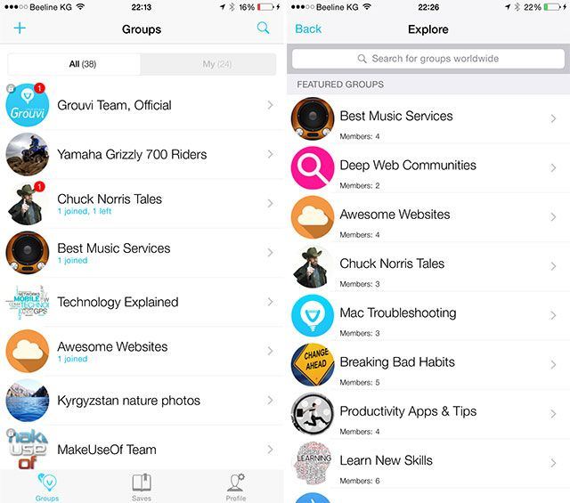 Grouvi Is the New WhatsApp for Topic-Based Chats [iPhone 6 Giveaway] grouvi1