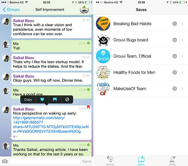 Grouvi Is the New WhatsApp for Topic-Based Chats [iPhone 6 Giveaway] grouvi3