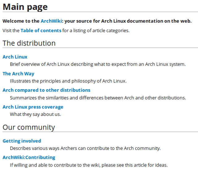 helpful-linux-communities-archwiki