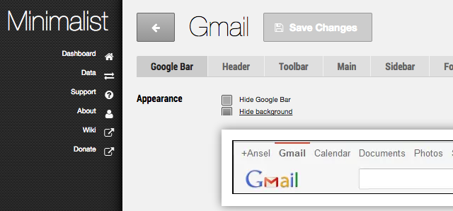 8 Tiny Tweaks For An Instant Minimalist Browser Experience minimalistgmail 640x298
