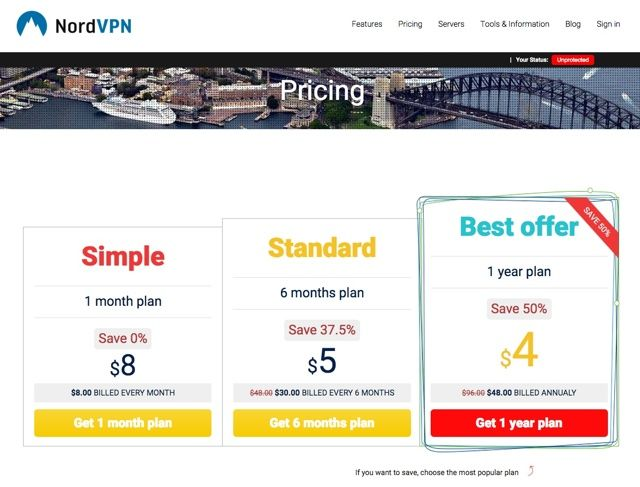 Why NordVPN Should Be Your VPN Solution [15 1-Year Accounts + iPhone 6 Giveaway] nordvpn pricing