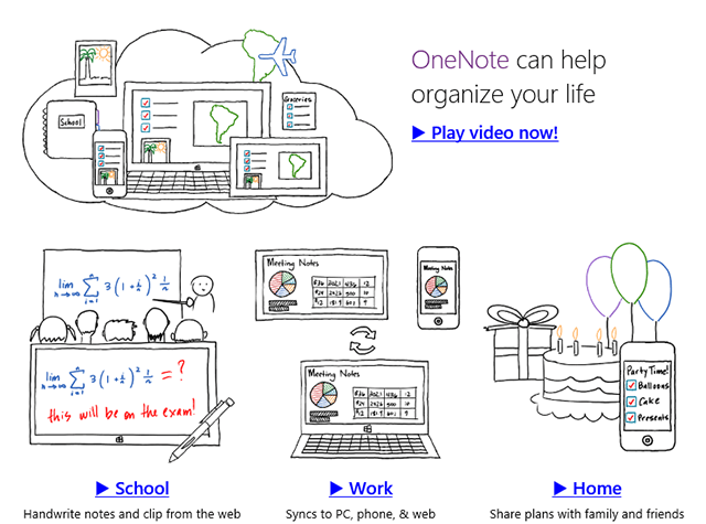 onenote-features