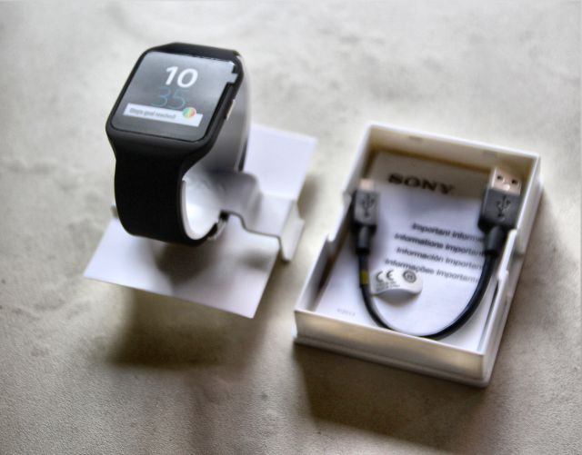 sony smartwatch 3 contents