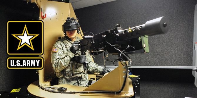 "Going ""Hands On"" at the US Army Virtual Reality Game Studio"