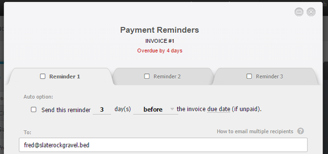 11.2 Invoicebus - payment reminder