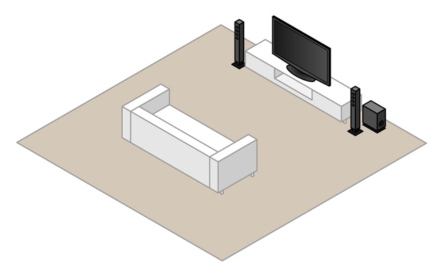2.1-surround-setup