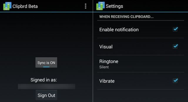 4.2 Clipbrd - Android UI