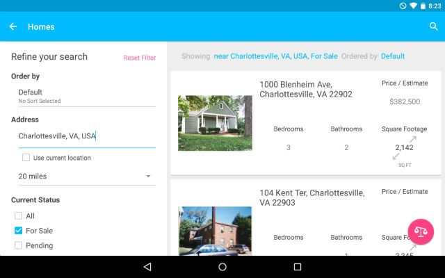 AndroidHomeBuying-FindTheHome