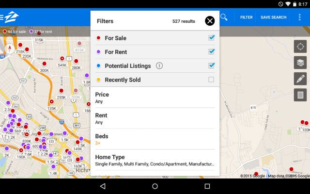 AndroidHomeBuying-Zillow