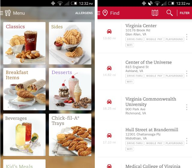 Fast Food With Android Pay