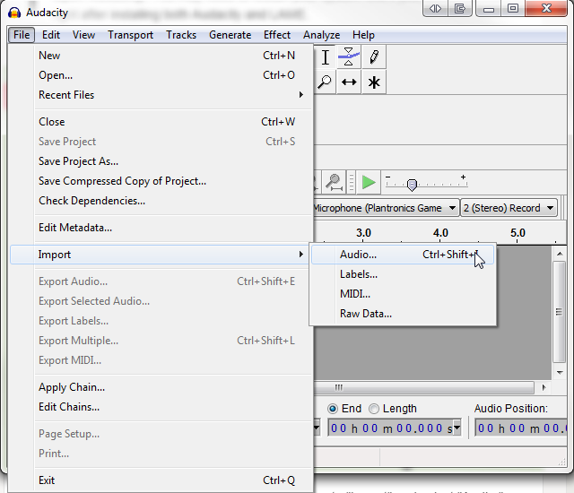 how to use envelope tool in audacity
