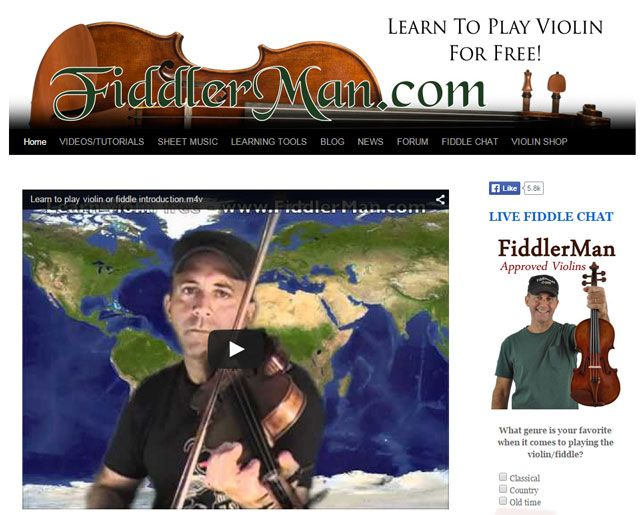 Fiddler man - Free Violin Lessons