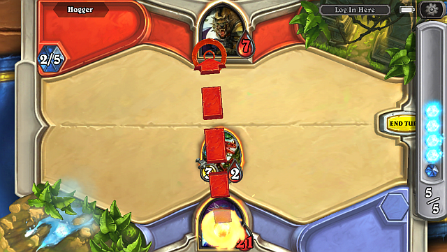 Hearthstone-android-iphone-attack-hero