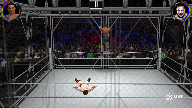 WWE-2K-iOS-Android-Cage
